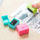 1Pair Small Guard Your ID Roller Stamp Self Inking Stamp Messy Code Office Tool
