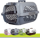Plastic Air Flight Car Cargo Travel Puppy Dog Cat Pet Animal Carrier Crate Box