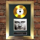 GOLD DISC PHIL COLLINS In the air Tonight Signed Autograph Mounted Repro A4 #138