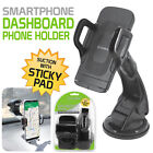 Universal Windshield Dashboard Suction Cup Car Mount Quick Snap Phone Holder