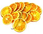 250g PACK OF REAL DRIED ORANGE SLICES - CHRISTMAS FESTIVE WREATH DECORATION