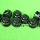 "Mini Button ( Choose Qty ) Cordlock (2 holes 1/16"") Black Cord Lock End Stop New"