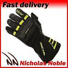Richa Cold Protect GTX Black Yellow Gore-Tex Leather and Textile Waterproof Glov
