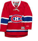 NHL Montreal Canadiens Home Hockey Jersey New Youth Size L XL MSRP 80