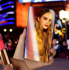 For iPhone X 8 6s 7 Plus Luxury Mirror Clear View Wallet Flip Stand Case Cover