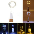 Rechargeable USB Bottle Cork Wire Fairy String Light 15 LED Wedding Party Decor