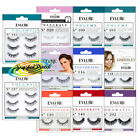 Eylure False Black Eyelashes Adhesive Strip Eye Lashes Beauty Makeup Extension