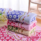 33*73cm Cotton Printed Absorbent Towel Dry Hand Face Towels Three colors