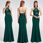 green mermaid dress - Ever-Pretty Green Evening Ball Gowns Mermaid Hater Formal Prom Party Dress 07189