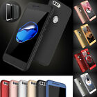 HUAWEI P8 P9 P10 Lite P9 P10 Plus Hybrid 360° FULL PROTECTIVE CASE COVER + Glass