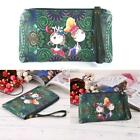 Cartoon Print Vintage Style Clutch Long Wallet Purse DZ88 01