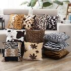 Soft Plush Throw Pillow Cover Square Sofa Car Home Decor Waist Cushion Case
