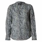 Marc O Polo Womens Blouse Long Sleeve Shirt Button Front All Over Pattern