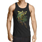 Adventure Link Herren Tank Top game gamer zelda boy switch konsole breath wild