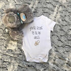 Baby Vest Grow Uncle Aunty Pregnancy Announcement Surprise Sister Brother Gift