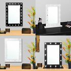 Large Vanity Mirror with Light Hollywood Makeup Mirror Wall Mounted Lighted New