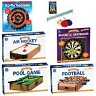 TABLE TOP GAMES FAMILY KIDS ADULT FUN PARTY BBQ INDOOR  - POOL AIR HOCKEY DARTS