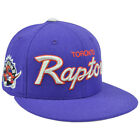 NBA Mitchell & Ness G023 Wool Team Color Toronto Raptors Fitted Hat Cap