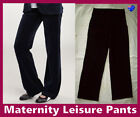 Maternity BLACK LEISURE LOUNGE / TRACK PANTS - Sz M L XL XXL Soft Trackpants New