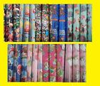 5m Metre Roll Wrap Children's Licenced Disney / DC / Marvel Gift Wrapping Paper