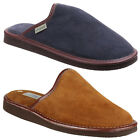 Cotswold Reg Lightweight Mule Mens Suede Leather Slip On Comfort Slippers