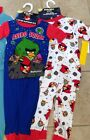 Angry Birds Pajamas Set of 2  Astro Squak Childrens Size 4 MSRP $44 New Tags