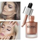 3 Colors Women Shimmer/Matte Highlighter Bronzer Eyeshadow Pressed Powder Bronze