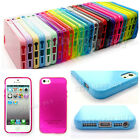 TPU Silicone 25 Mutli Color Soft Phone Case Skin Cover for iPhone 5G five LOT