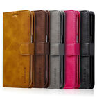 Leather Phone Case Back Cover Card Slots Support for Samsung Galaxy S7 S7 Edge