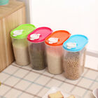 Food Kitchen plastic storage bins Container Grain Bread Rice Cereal Bean Keeper