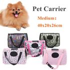 Portable Pet Carrier Folding Travel Carry Bag Hangbag Crate Dog Cat Puppy M Size