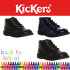 Kickers Kick Hi  Boys Back to School Boots Girls Sizes UK 3 4 5 6 Junior kids