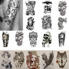 Unisex Large Temporary Tattoo Body Art Stickers Waterproof Tattoos Removable