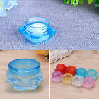 1/30pcs 2/3/5 Grams Small Clear Plastic Cosmetic Sample Container Jars Pot Empty