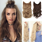 Secret Wire Hair Extensions Brown Blonde Long 100G Thick As Human Haripiece FR5