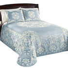 jacquard bedspread - Opulence Medallion Woven Jacquard Lightweight Bedspread, by Collections Etc