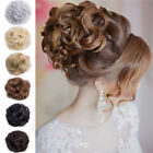 Beauty Pony Tail Women Messy Hair Bun Hairpiece Extension Scrunchie AS Real FY8