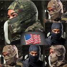 Outdoor Camouflage Army Cycling Motorcycle Cap Balaclava Hats Full Face Mask USA