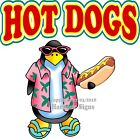 Hot Dogs DECAL (Choose Your Size) Food Truck Concession Vinyl Sticker