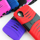 google nexus phone 5 - For LG Google Nexus 5 D820 Rugged EXO Stretch Hybrid Hard Phone Case Cover