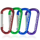 Aluminum D Shaped Interlocking Carabiner – Outdoor, Hiking, Camping, and More