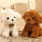 Cute Lovely Teddy Puppy Dog Fluffy Plush Fur Stffed Doll Toys Kids Bitthday Gift