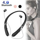 Bluetooth Headset Stereo Sports Wireless Headphone Earbuds for iPhone Samsung LG