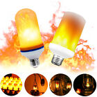 LED Flame Effect Fire Light Corn Bulb E27 Flickering Emulation Decoration lamps