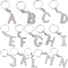 Bling Crystal Sparkly Alphabet Keyring Initial Letter Key Ring Chain KeychainLAG