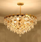 Fashion Creativity K9 Crystal chandeliers Ceiling restaurant Bedroom Lighting