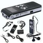 Rechargeable 8GB Digital Audio Voice Recorder Dictaphone MP3 Player Nauhuri New