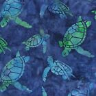 Totally Tropical Batik Quilt Fabric Fat Quarter
