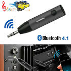 Mini Audio Receiver Bluetooth Receiver 3.5mm Jack Music Adapter Car AUX US