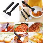 2 Pcs Kitchen Baking Tools BBQ Grill Brush Long Handle Anti-High Temperature K0